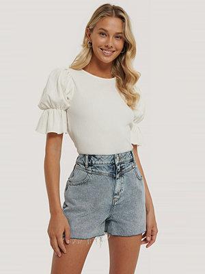 Shorts & kortbyxor - NA-KD Trend Denimshorts blå