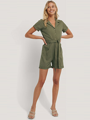 Jumpsuits & playsuits - Rut & Circle Playsuit grön