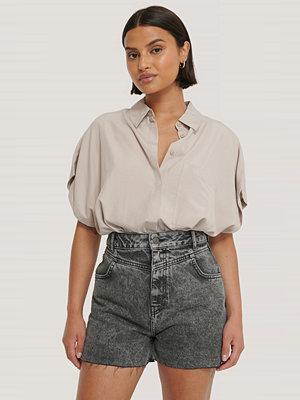 Shorts & kortbyxor - NA-KD Trend Denimshorts svart