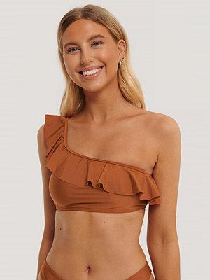 NA-KD Swimwear Bikiniöverdel röd