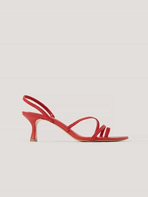 Pumps & klackskor - Mango Sandaler röd