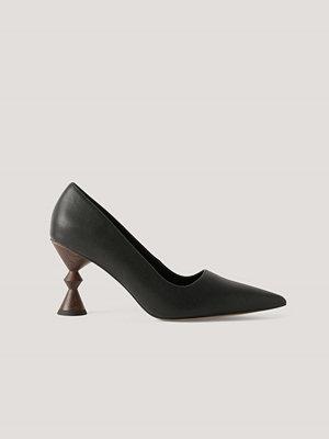 Pumps & klackskor - NA-KD Shoes Högklackade Pumps svart