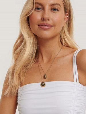 Statement by NA-KD Influencers smycke Halsband Med Dubbla Kedjor guld