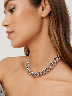 NA-KD Accessories smycke Kedjehalsband silver