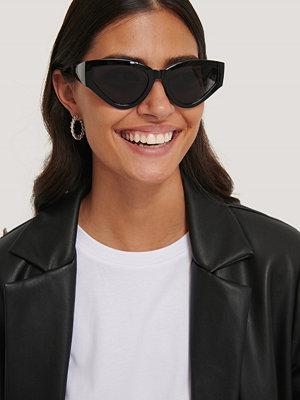 NA-KD Accessories Stora, Droppformade Solglasögon svart