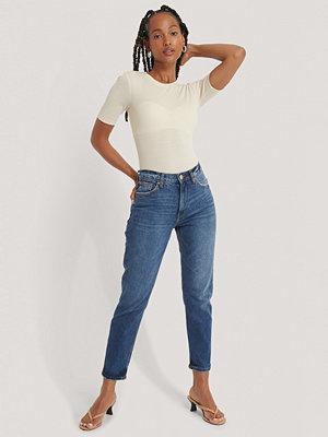 Mango Mom-Jeans blå