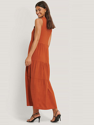 Trendyol Midiklänning I Vid Modell röd