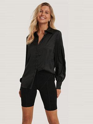 NA-KD Trend Skjorta Med Knappar svart