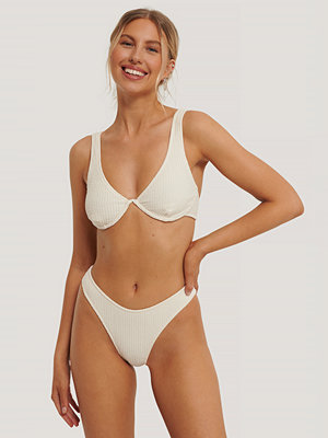Stéphanie Durant x NA-KD Bikiniunderdel vit