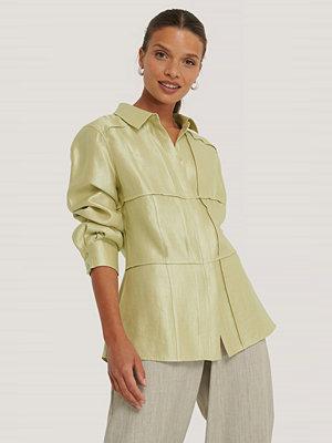 Skjortor - NA-KD Trend Skjorta grön