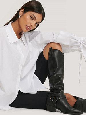 NA-KD Shoes Knähöga Stövlar svart