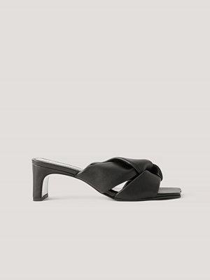Mango Sandaler Med Rosettdetalj svart