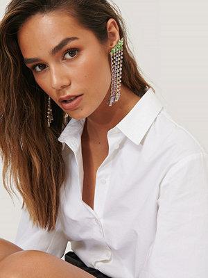 Lizzy x NA-KD smycke Strassörhängen multicolor