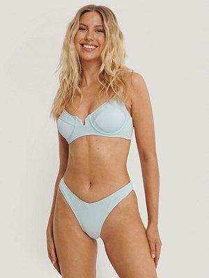 Danaë x NA-KD V-Formad Bikiniunderdel blå