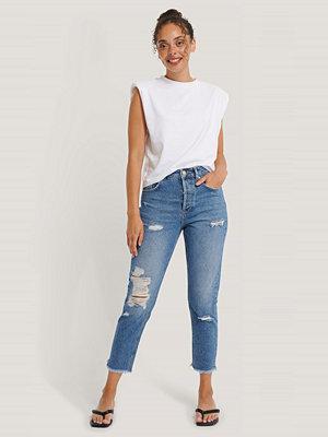 NA-KD Reborn Jeans blå
