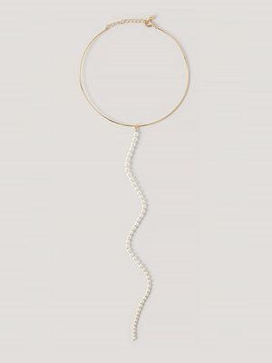 NA-KD Accessories smycke Pärlhalsband guld