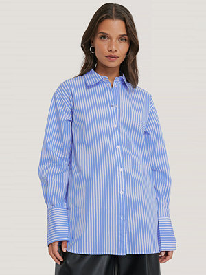 Skjortor - NA-KD Classic Oversize Skjorta blå