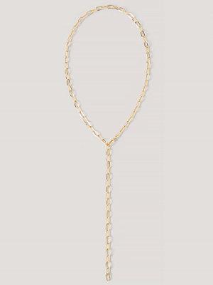 NA-KD Accessories smycke Halsband Med Droppkedja guld