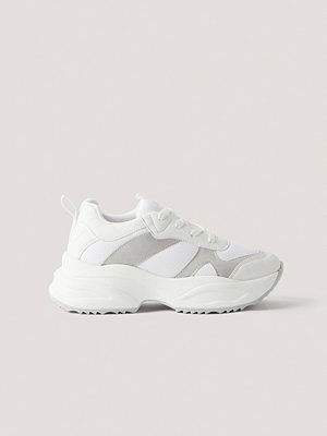 Sneakers & streetskor - NA-KD Shoes Chunky Gympaskor vit