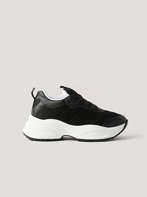 Sneakers & streetskor - NA-KD Shoes Chunky Gympaskor svart