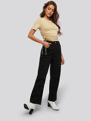 Jeans - XLE the Label Claire Straight Jeans svart