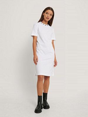 Calvin Klein Miniklänning Med Logga vit