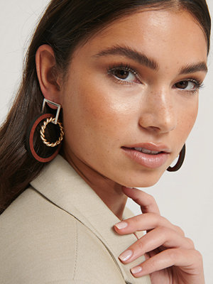 NA-KD Accessories smycke Hoops-Örhängen multicolor