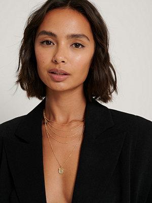 NA-KD Accessories smycke Halsband guld