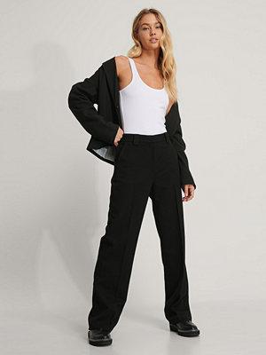 NA-KD Classic Klassiska kostymbyxor svart svarta