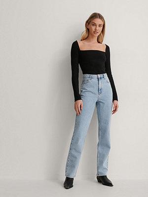 Jeans - Queen of Jetlags x NA-KD Raka Jeans blå