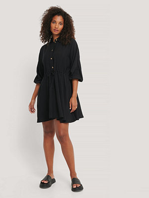 Rut & Circle Miniklänning Med Dragsko svart