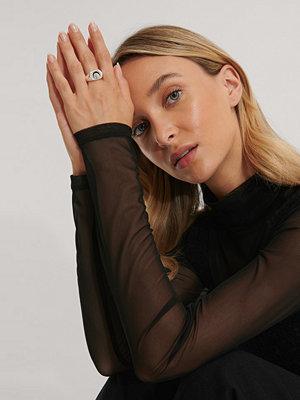 Emma Ellingsen x NA-KD smycke Ring silver