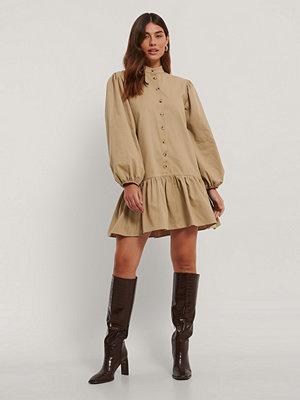Trendyol Vid Miniklänning beige