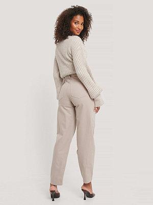 NA-KD Reborn Ekologiska Jeans Med Lös Passform grå