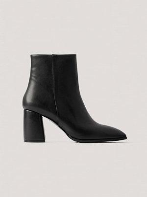 NA-KD Shoes Boots Med Blockklack Basic svart