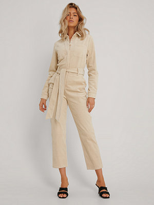 Jumpsuits & playsuits - NA-KD Trend Jumpsuit beige