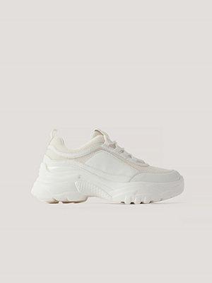 Sneakers & streetskor - NA-KD Shoes Chunky Sneakers vit