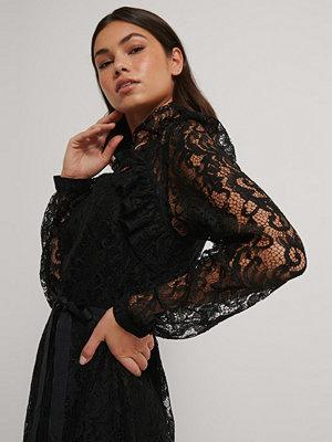 Ida Sjöstedt Spetsklänning svart