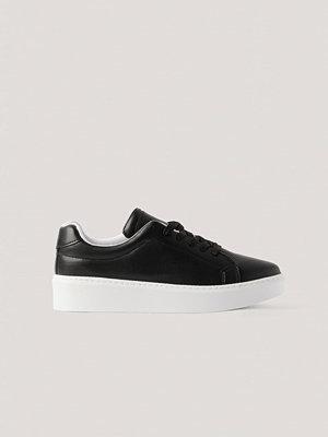 NA-KD Shoes Gympaskor svart