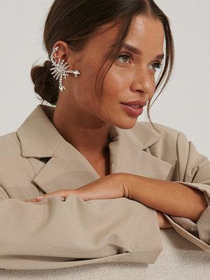 NA-KD Accessories smycke Cufförhängen silver