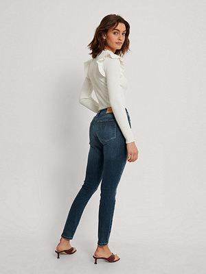 Calvin Klein Jeans Med Medelhög Midja blå