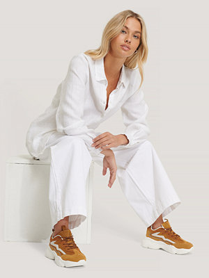 NA-KD Shoes Löparsko Mer Reflexdetaljer brun