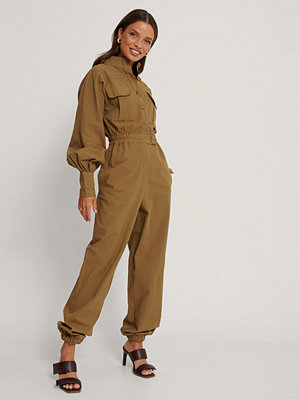 Jumpsuits & playsuits - Trendyol Jumpsuit brun
