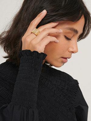 Hoss x NA-KD smycke Ring guld