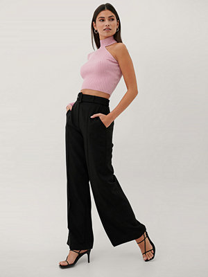 Paola Locatelli x NA-KD Kostymbyxor Med Hög Midja svart svarta