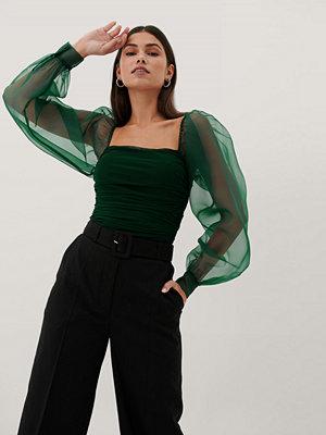 Paola Locatelli x NA-KD Topp grön