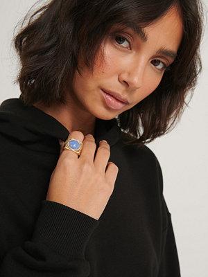Hoss x NA-KD smycke Bred Ring guld