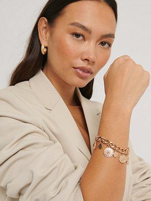 NA-KD Accessories smycke Armband Guldlänk guld