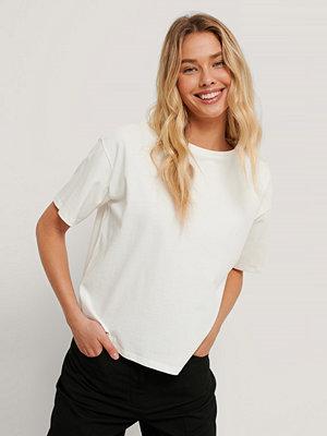 NA-KD Basic Ekologisk Oversize T-shirt vit