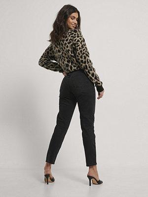 Jeans - Mango Mom-Jeans svart